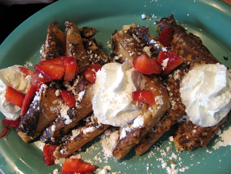 The infamous French Toast.