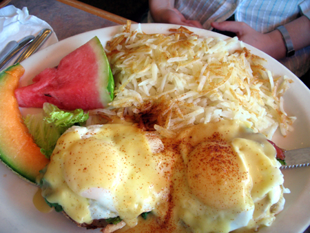 The Eggs Benedict did not disappoint.