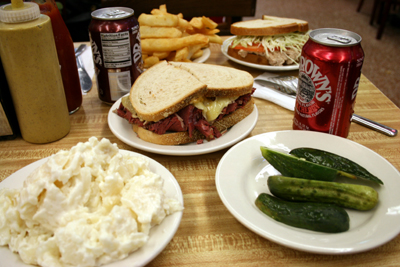 At Katz Deli we had what Sally had.