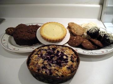 Deerfields Bakery sent us some samples of their gluten free products.