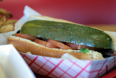 Hot Doug's classic Chicago hot dog hits the spot, but is it worth the wait?