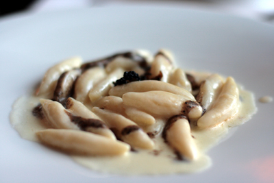 The black truffle gnocchi is to die for.