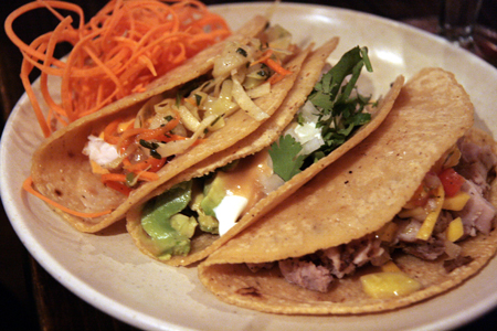 Tacos are the specialty at De Cero.