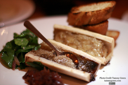 It's definitely worth expanding your dining horizons with dishes like bone marrow.