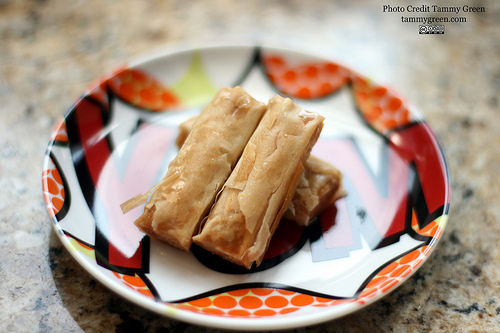 These cashew baklava fingers are addicting!
